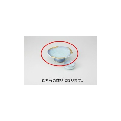 和食器 金彩マロン青磁 高台刺身 36K019-07 まごころ第36集 【キャンセル/返品不可】