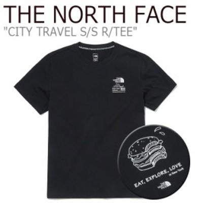 ノースフェイス Tシャツ THE NORTH FACE CITY TRAVEL S/S R/TEE NEW YORK シティ トラベル ニューヨーク 半袖 ブラック NT7UM00A ウェア