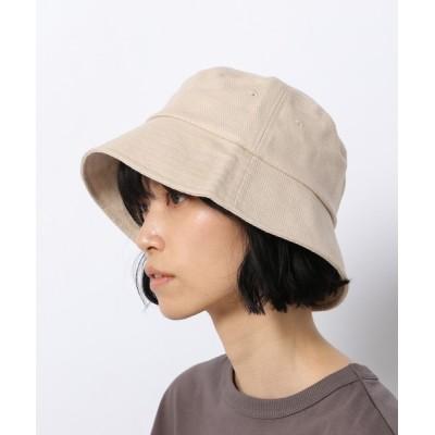 LAKOLE / リネンMIXつば広バケットハット / 935240 WOMEN 帽子 > ハット