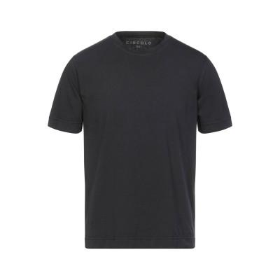 チルコロ 1901 CIRCOLO 1901 T シャツ ブラック M コットン 100% T シャツ