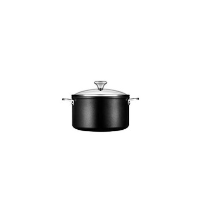 Le Creuset Toughened Nonstick PRO Stockpot With Glass Lid, 6.3 qt.