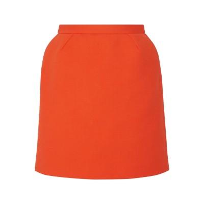 デルポゾ DELPOZO ひざ丈スカート オレンジ 38 コットン 87% / ナイロン 10% / ポリウレタン 3% ひざ丈スカート