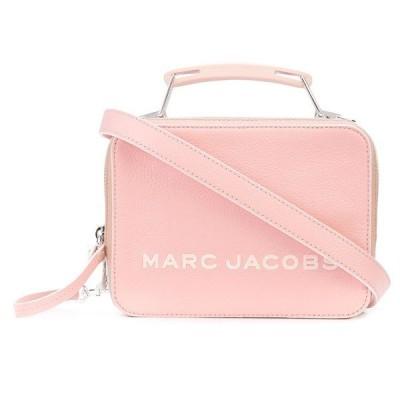 マークジェイコブス 2WAYバッグ MARC JACOBS M0016218 THE TRICOLOR TEXTURED MINI BOX BAG (Bloom Pink) トライカラー ミニ ボックス バッグ (ピンク)