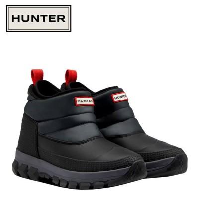 期間限定お買い得プライス HUNTER ハンター オリジナル インシュレイティド アンクル スノー ブーツ MFS9133WWU-BLK メンズ シューズ 靴 くつ