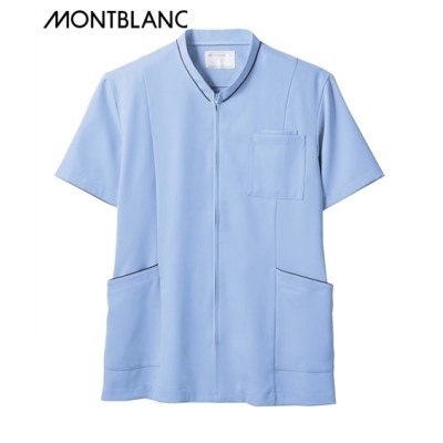 MONTBLANC スクラブ(半袖)(男女兼用) ナースウェア・白衣・介護ウェア