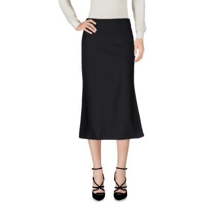ツインセット シモーナ バルビエリ TWINSET 7分丈スカート ブラック S ポリエステル 53% / バージンウール 44% / ポリウレタン