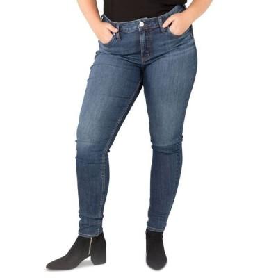 シルバー ジーンズ レディース デニムパンツ ボトムス Trendy Plus Size Suki Skinny Jeans