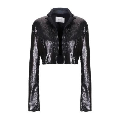 LUCILLE テーラードジャケット ブラック 42 ポリエステル 100% テーラードジャケット
