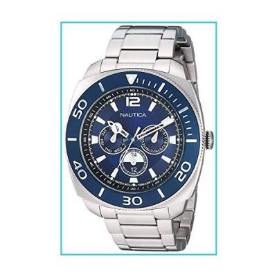 Nautica Men's Bal Harbour NAPBHS904 Silver Stainless-Steel Quartz Dress Watch【並行輸入品】