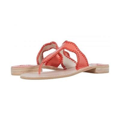 Jack Rogers ジャックロジャース レディース 女性用 シューズ 靴 サンダル Jackie Sandal - Coral