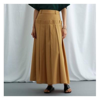 【ジェット/JET】 【ウォッシャブル】コットンタックデザイン ロングスカート
