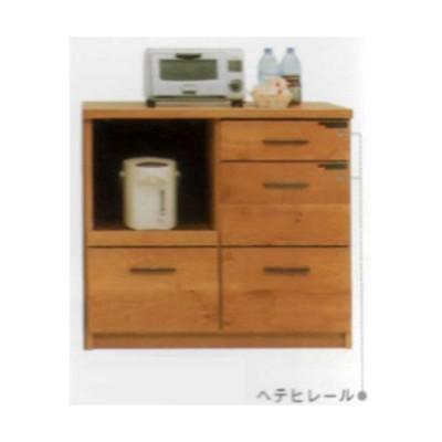 カウンターワゴン 100cm幅 キッチンカウンター 完成品 国産 開梱設置