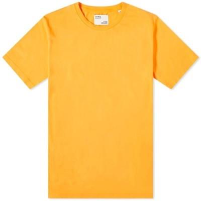 カラフルスタンダード Colorful Standard メンズ Tシャツ トップス Classic Organic Tee Sunny Orange