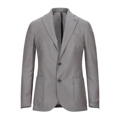 カルバン クライン CALVIN KLEIN テーラードジャケット ダークブルー S ポリエーテル 85% / レーヨン 13% / ポリウレタン