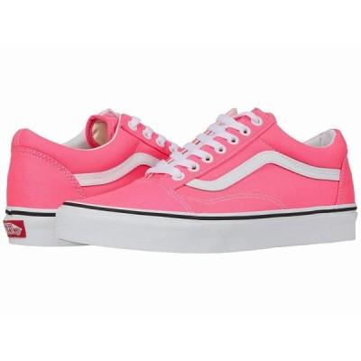 (取寄)Vans(バンズ) スニーカー オールド スクール ユニセックス メンズ レディースVans Unisex Old Skool(Neon) Knockout Pink/True White