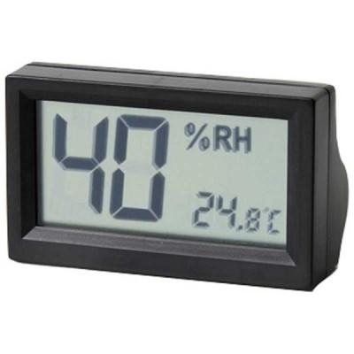 東洋リビング デジタル温湿度計(黒) OPADHDBK(ブラ