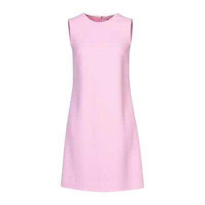 ドルチェ & ガッバーナ DOLCE & GABBANA ミニワンピース&ドレス ピンク 40 ウール 100% ミニワンピース&ドレス