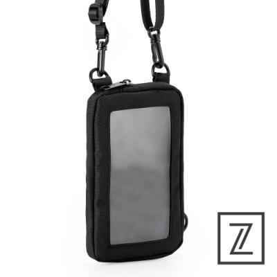 74盎司 Life 多用途頸掛手機兩用包[TG-242-LI-T]黑