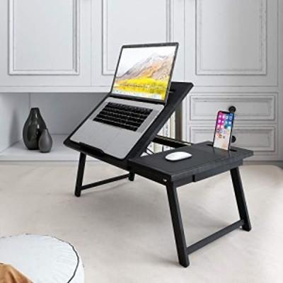 新品送料無料Natwind 竹製 ラップデスク 多目的 ノートパソコン ベッドトレイ 折りたたみ