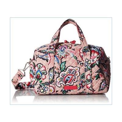 Vera Bradley Women's Signature Cotton 100 Satchel Purse, Stitched Flowers, One Size並行輸入品