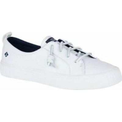 Sperry Top-Sider レディーススニーカー White Leather Crest Vibe Creeper