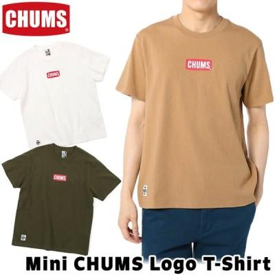 CHUMS チャムス Mini CHUMS Logo T-Shirt ミニ チャムスロゴ Tシャツ 半袖