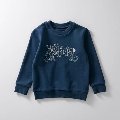 裏毛スウェットシャツ(選べるキャラクター)【子供服】(ディズニー)