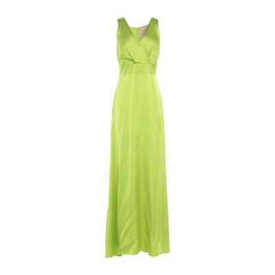 KITAGI® ロングワンピース&ドレス ビタミングリーン 40 レーヨン 100% ロングワンピース&ドレス
