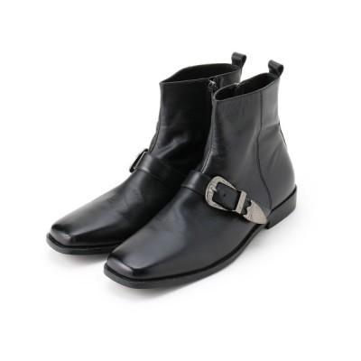 tk.TAKEO KIKUCHI / ウェスタンバックル スクエアーブーツ MEN シューズ > ブーツ