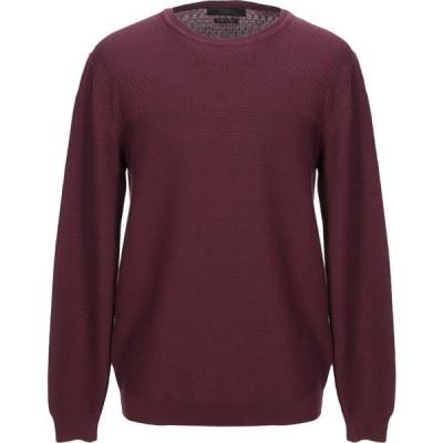 リウジョー LIU JO MAN メンズ ニット・セーター トップス Sweater Deep purple