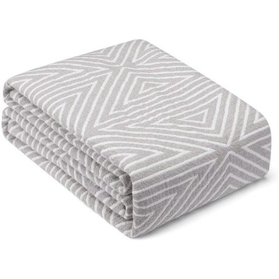 HomeFirst マルチカバー 北欧風 綿 100% ブランケット タオルケット 綿 ソファーカバー 2 3人掛け マルチカバー ベッド マルチか