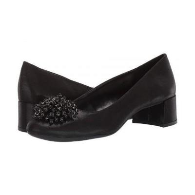 Anne Klein アン クライン レディース 女性用 シューズ 靴 ヒール Holliday - Black Fabric