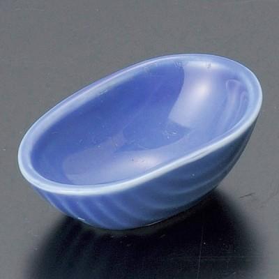 和食器 小さな貝 小鉢 青 6×4×2.3cm うつわ 陶器 おしゃれ おうち