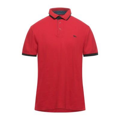 HARMONT&BLAINE ポロシャツ レッド XL コットン 94% / ポリウレタン 6% ポロシャツ