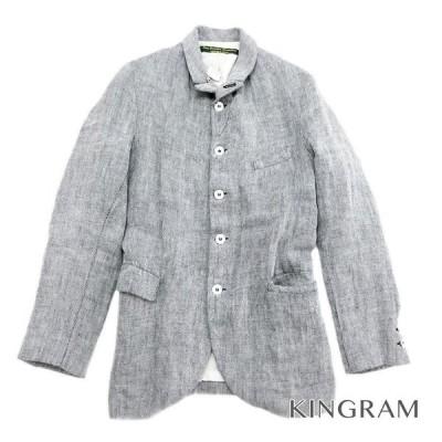 ポールハーデン メンズ ジャケット グレー リネン コットン メンズトップス rsa【中古】