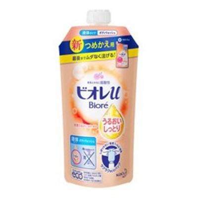 花王 KAO ビオレu ボディウォッシュ うるおいしっとり フローラルフルーティの香り 詰替 340ml 化粧品 コスメ