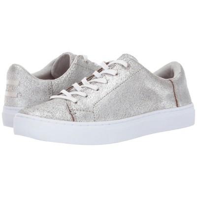 トムス TOMS レディース スニーカー シューズ・靴 Lenox Sneaker Silver Metallic Leather
