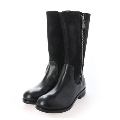 ヨーロッパコンフォートシューズ EU Comfort Shoes ロングブーツ (ブラック)