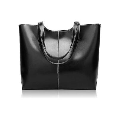 [カティア] バッグ レディース トートバッグ ビジネス 軽量 シンプル (ブラック フリーサイズ)
