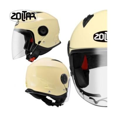 スモールジェットヘルメット イージーウェーブ2 スポーツジェット アイボリー ベージュ サイズM ZOLTAR ゾルター メンズ レディース 軽量ヘルメット