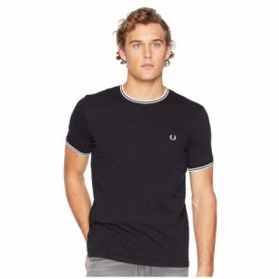 フレッドペリー Fred Perry メンズ Tシャツ トップス Twin Tipped Ringer T-Shirt Black