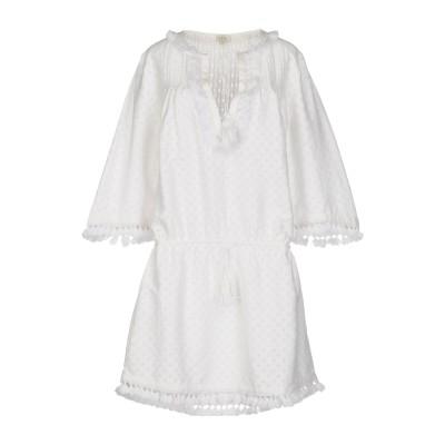タリサ TALITHA ミニワンピース&ドレス ホワイト XS コットン 74% / シルク 26% ミニワンピース&ドレス
