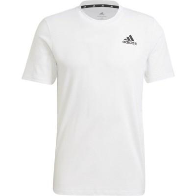 adidas アディダス M D2M PR Tシャツ メンズ BG979 WHT/BLK