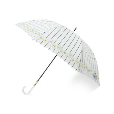 grove(グローブ) フラワー×ストライプ長傘