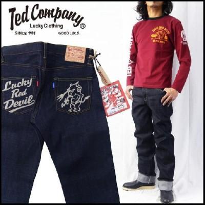 テッドマン テッドマンズ TEDMAN'S DEVIL-005 オリジナルジーンズ(ジーパン・Gパン・デニム) チェーンステッチ刺繍
