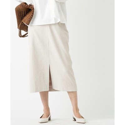 スカート 女性らしさを高めてくれる一枚 オックススリットスカート