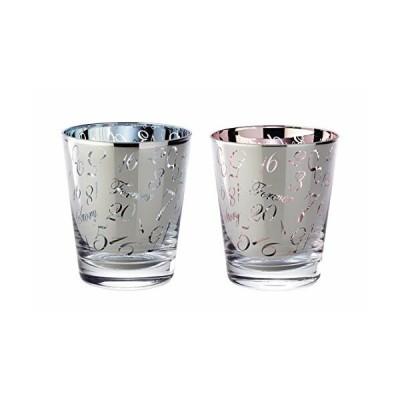 アペックスハート ペアグラス セット ガラス R&B ラグジュアリー Forever 化粧箱入り ギフト プレゼント FE-1076