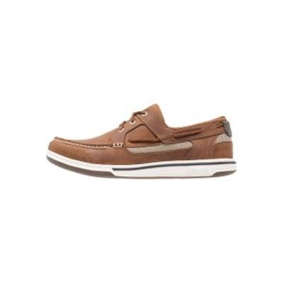 セバゴ メンズ デッキシューズ シューズ TRITON - Boat shoes - walnut walnut