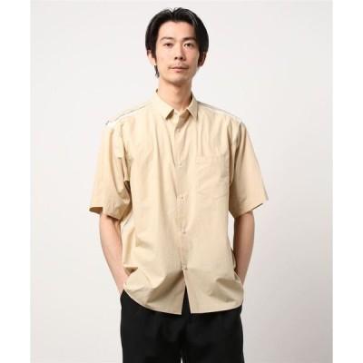 シャツ ブラウス メッシュラインシャツ/シャツ