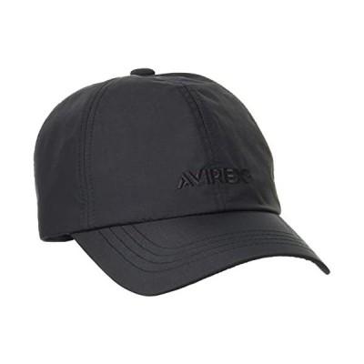 [アヴィレックス] キャップ Cordura Fabric CAP 80:ブラック Free Size
